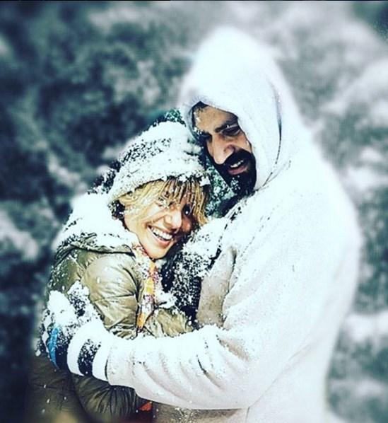 Gülben Ergen  ❄️☃❄️⛄️❄️ aşk ve kar ikilisi❄️☃❄️☃❄️☃❄️
