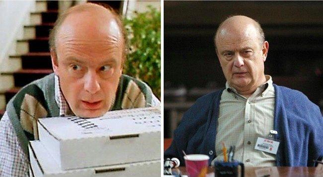 Frank amca rolündeki Gerry Bamman da haliyle yaşlanmış.