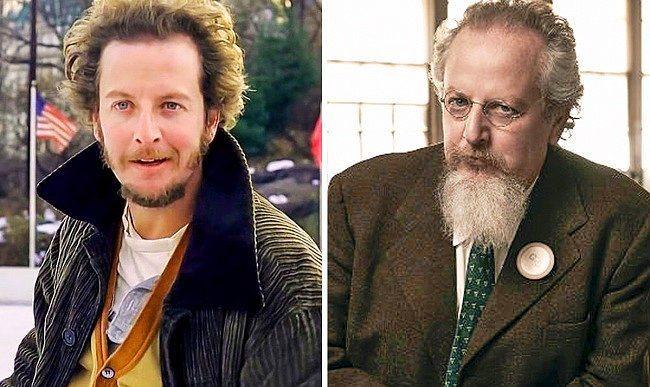 Ancak hafif salak hırsız Marvin Merchants'a, yani aktör Daniel Stern'e yıllar pek iyi davranmamış gibi görünüyor.