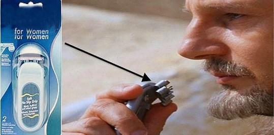 Qui Gon Jinn'in kullandığı iletişim aracı kadınlar için üretilmiş bir traş bıçağıydı.