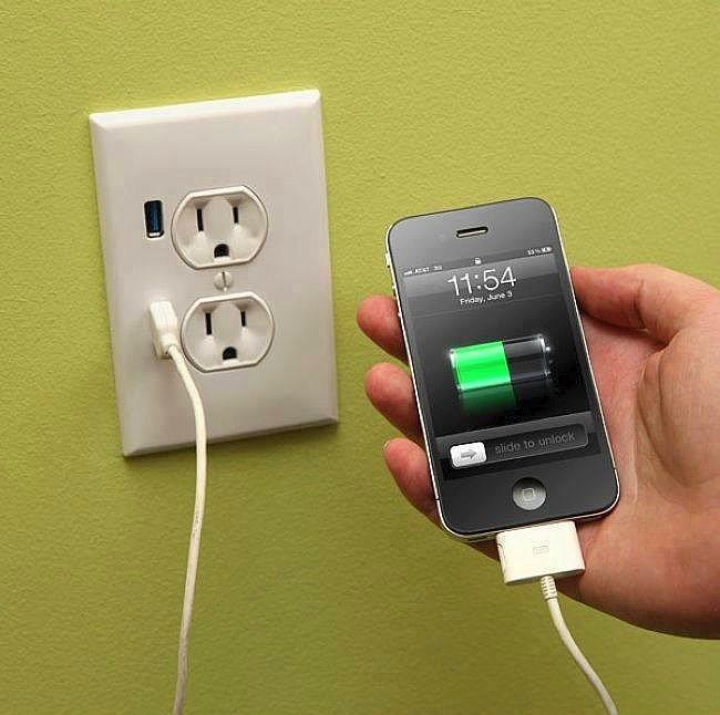 Fişe ihtiyaç duymadan USB'den şarj etme.  Bu Amerika'da yaygınlaşmaya başlayan bir teknoloji aslında. Duvara takılan fiş aletlerine ek olarak USB girişi de konuluyor. Böylece hiç bir aracıya ihtiyaç duymadan direkt USB'den şarj etmek mümkün.   Elektrik elektronik okuyan mühendis arkadaşlara duyurulur.