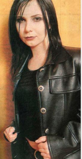 Şebnem Ferah, ilk albümü Kadın'ı 1996'da çıkardı. O zamanlar böyle görünüyordu.