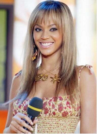 Beyonce, Destiny's Child grubundan ayrılık ilk solo albümü Dangerously in Love'ı çıkardığında yani 2003 yılında böyle görünüyordu.