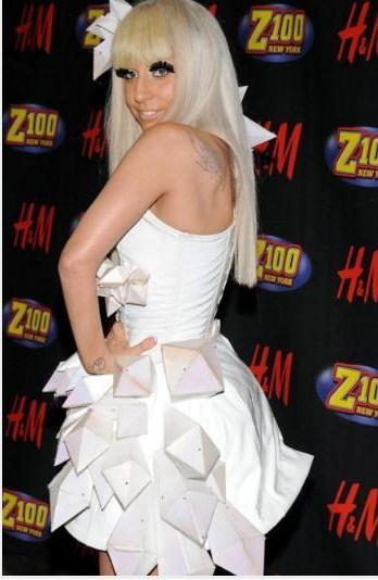 Lady Gaga, 2008'de The Fame albümünü çıkardığında böyle görünüyordu