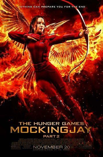 The Hunger Games: Mockingjay - Part 2  7,0 Puan  59.006 Oy