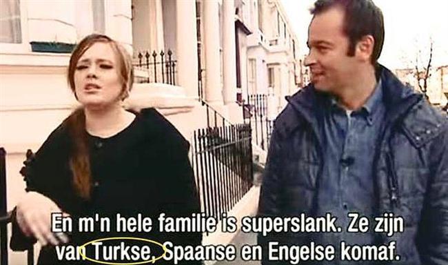 Yabancı olduklarını bildiğimiz ünlülerin bazılarının aslında Türk olduğunu biliyormuydunuz? İşte size yabancı olduğunu sandığımız Türkler..  Son günlerde gündemimizi meşgul eden konu Adele'in Türk olduğunu açıklaması.  Ancak kendisi yalnız değil.