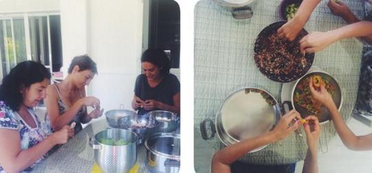 Korel bir süre önce bir bayram öncesi kabak dolması yaparken çekilen pozunu da sosyal medyada paylaşmıştı.