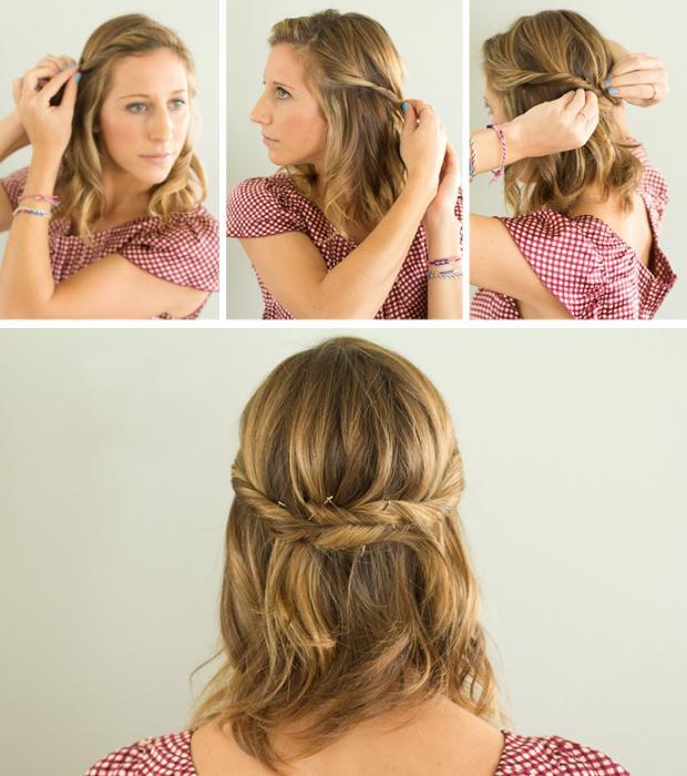 Kısa saçları unutmadık. Şekil almayan kısa saçlarınıza  uygulayacağınız basit, bükümlü bir modelin kurtarıcınız olağından eminiz.