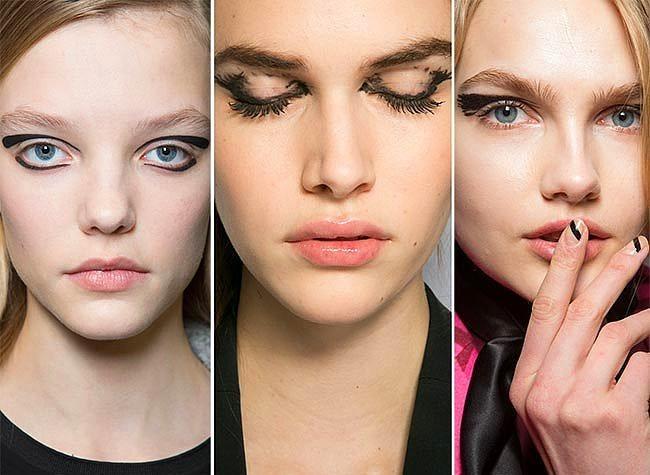 Üzerinde Oynanılmış Eyeliner  Daha profesyonel bir performans isteyen bu yeni makyaj türü yavaş yavaş özellikle de Avrupa'da yaygınlaşmış durumda. İçine girdiğiniz ortamdaki tüm bakışları üzerinize çekecek olan bu eyeliner dizaynları alternatif arayanlar için ideal.