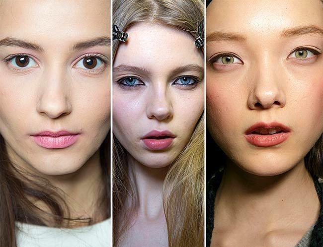 Minimalist 90'lar  Duru ve iddialı bir görüntü sağlayan bu trend tekrardan gündemimizde. Özellikle Milano ve Paris'te görücüye çıkan 90'lar modası sakin dudaklar ve de iddialı bakışlar için oldukça etkili.