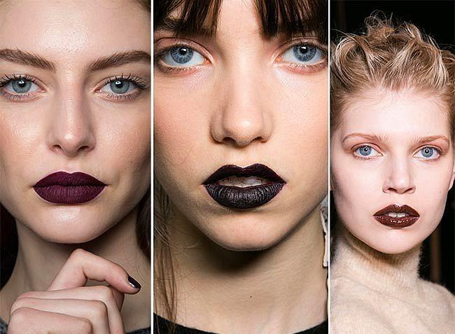 Gotik Dudaklar  Ermanno Scervino'nun özellikle üzerinde durduğu yoğun dudak rengi makyajı gotik dudaklar geçtiğimiz sezondan beri revaçta. Renkli gözlü kadınların daha çok tercih ettiği bu model surata yepyeni bir görüntü vaat ediyor.
