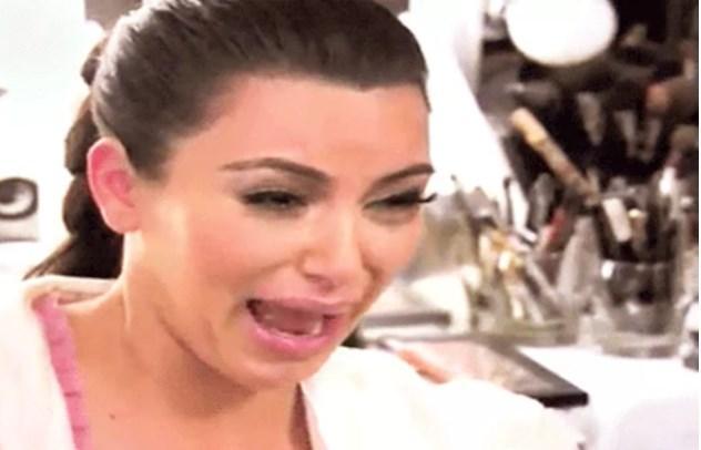 Kim'in meşhur ağlaması...
