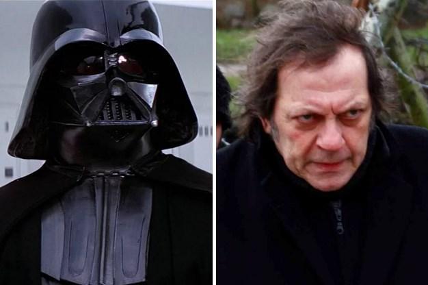 Darth Vader / Recep Aktuğ  Maskesiz halini hatırlarsanız...