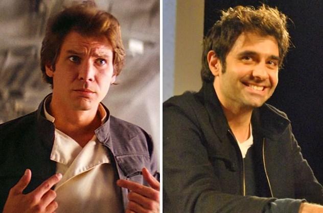 Han Solo / Cansel Elçin  Millennium Falcon'u kullanabilecek gibi sanki.