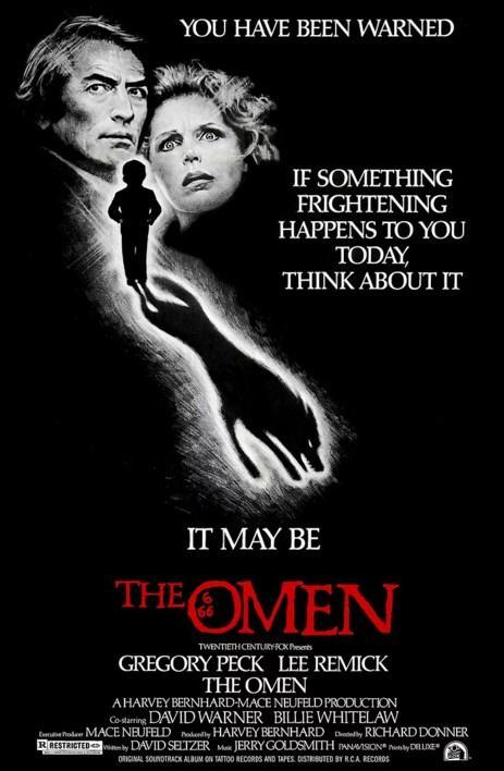The Omen (1976)  Amerikan Elçisi Robert Thorn'un eşi hüsranla sonuçlanan bir doğum yapar. Adam karısının acı gerçeği öğrenmesini engelleyip bir başka bebeği sahiplenmelerini sağlar. Fakat çocuk büyümeye başladıkça bazı tuhaf olaylar gerçekleşmeye başlayacaktır.  İntihar ve ölümlerin ardından baba, oğlunun gizemini çözmeye karar verir. Ve onun şeytanla olan yakın ilişkilerine dair ipuçları keşfetmeye başlar.  Zamanında bolca eleştiri almasına rağmen kült bir korku filmi olmakta gecikmedi. Devam filmleri de bulunmaktadır. Ve pek çok kaynağa göre, seri bir bütün olarak başarılı kabul edilir. Senaryodaki bazı açıklar ise, izleyeni dehşete düşüren sahneler nedeniyle fazla dikkat çekmez.