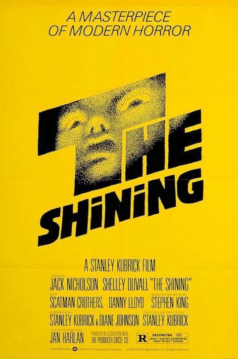 The Shining / Cinnet (1980)  Stephen King'in aynı isimli romanından usta yönetmen Stanley Kubrick tarafından beyaz perdeye uyarlanan film; yazar Jack Torrance'ın, kış sezonunda kapalı olan Overlook Oteli'nin bakımını üstlenerek, ailesiyle birlikte otele taşınması sonrasında gelişen metafiziksel olayları konu alır. Jack'in doğaüstü sezgilere sahip olan küçük oğlu, zamanla otelin içerisinde yalnız olmadıklarını, geçmiş ve gelecekten gelen hayaletlerle birlikte yaşadıklarını görür ve ailesini buna inandırmaya çalışır. Aile bir kar fırtınası sebebiyle dağda konuşlanan bu otelde mahsur kaldığındaysa Jack doğaüstü varlıklar tarafından ele geçirilir ve yavaş yavaş aklını kaybetmeye başlar.