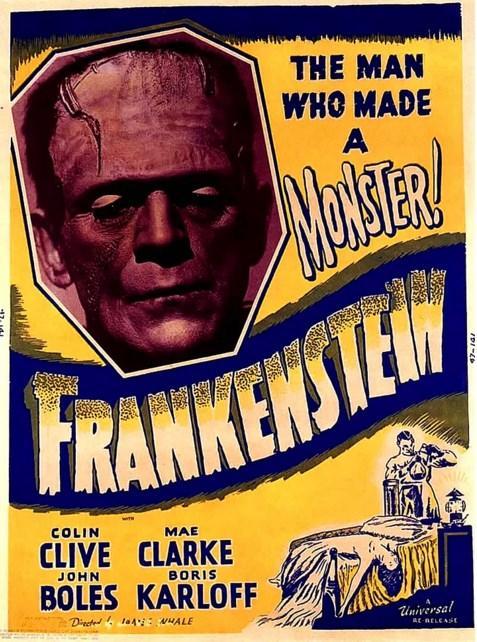 Frankenstein (1931)  Derslerinde son derece başarılı ve de dikkat çeken bir öğrenci olan Henry Frankenstein, sıradışı bir takıntıya sahiptir. Ölü insanların bedenlerindeki parçaları birleştirip yeni bir insan yaratmayı hedefleyen Henry, bu konuda oldukça ciddidir. Bu nedenle gözlerden uzak bir şatoyu mesken edinen edinir ve burada gerekli çalışmaları yapmaya başlar. Bu çalışmalar sırasında ona yardımcısı Fritz eşlik etmektedir. Sonuç olarak ilginç bir şekilde başarıya ulaşırlar. Ancak yarattıkları şey dehşet verici bir canlıya dönüşür.  Mary Shelley'in klasik romanından defalarca beyazperdeye uyarlanan Frankenstein'ın bu versiyonunda yönetmen koltuğunda James Whale bulunuyor.