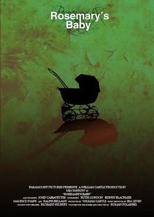 Rosemary's Baby / Rosemary'nin Bebeği (1968)  Tanınmış bir aktör olmak için çabalayan Guy ve güzeller güzeli karısı Rosemary, New York'taki yeni hayatlarına başlamak için eski bir binada mütevazi bir daire kiralarlar. Genç çiftin bu yabancı yere alışmalarındaki en büyük yardımcısı üst katlarında oturan yaşlı Castavet çifti olur. Castavet çiftinin 'fazlaca' misafirperver olan tavırları güzel Rosemary'i şüphelere sürüklerken kocası Guy olan bitenin farkında değildir. Günden güne tedirginleşen ve şüpheleri kocası tarafından önemsenmeyen Rosemary gördüğü tuhaf ve korkutucu bir rüyayla derinden sarsılır. Rüyasında şeytani bir varlık tarafından tecavüze uğradığını gören kadın gerçek hayatında da hamile kaldığında komşuların gizemi giderek artacaktır.  Ira Levin'in kült romanından Roman Polanski tarafından sinemaya uyarlanan film korku-gerilim sinemasının en başarılı örneklerinden biri.