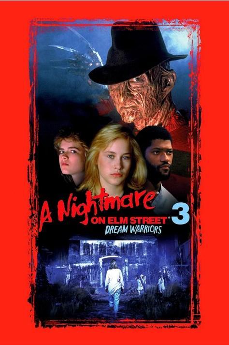 A Nightmare on Elm Street 3: Dream Warriors / Elm Sokağında Kabus 3 : Rüya Savaşçıları (1987)  Freddy, Elm Sokağı'nın sakinlerini, korkunç yöntemlerle rüyalarında avlamaktadır. Tek umutları, Freddy'den sağ kalarak kurtulmayı başarmış Nancy Thompson ve akıl hastanesinde tedavi gören bir grup gençtir. Nancy, bu savaşta Freddy'e kendi yöntemleriyle karşılık verebilecek tek kişidir.