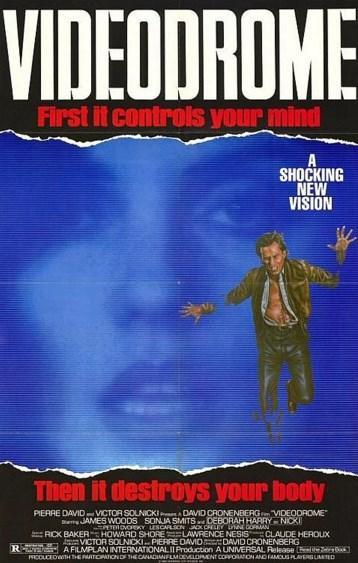 Videodrome (1983)  Max Renn, genelde cinsellik içeren, bel altı basit ve ucuz hikayeleri kovalayan bir televizyon yöneticisidir. Rating oranlarını yükseltemek arzusu ile bir çare ararken enteresan bir korsan yayın dikkatini çeker. Videodrome isimli underground yayın, ilk başta gerçek cinayetlere yer veren bir 'snuff' tv havasındadır. Videodrome'u keşfettikçe altüst edici görüntüler, teknolojiye tapınma, sado-mazoşizm ve cinsellik içerikli yayınlar Max'ın profesyonel ilgisinin kişisel merakına yenik düşmesine sebep olur. Çok geçmeden perde arkasındaki garip ve tehlikeli karakterlerle tanışır.