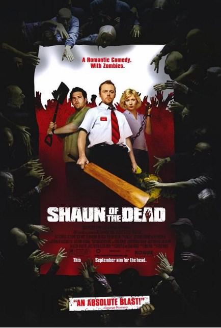 Shaun of the Dead / Zombilerin Şafağı (2004)  Bir adam can çekişmekte olan hayatını kurtarmaya karar verir. İlk adım olarak da eski kız arkadaşını yeniden kazanmayı planlar. Annesi ile olan ilişkisini düzeltmek ister. Bir gün Kuzey Londra'yı zombiler basar. Sokaklarda ölüler birikmeye başlar. Bütün bunları izleyen Shaun, sevdiklerini kurtarmaya karar verir. Liz, Ed, Pete ve annesini toparlayıp Winchester'a ulaşabilirse hayatta kalacaklarına inanan Shaun'u zorlu bir macera beklemektedir. Annesi bir zombi tarafından ısırılır. Shaun onu öldürmek zorunda kalır. Film aslında bir zombi komedisi. Eleştirmenler tarafından oldukça övgü aldı.