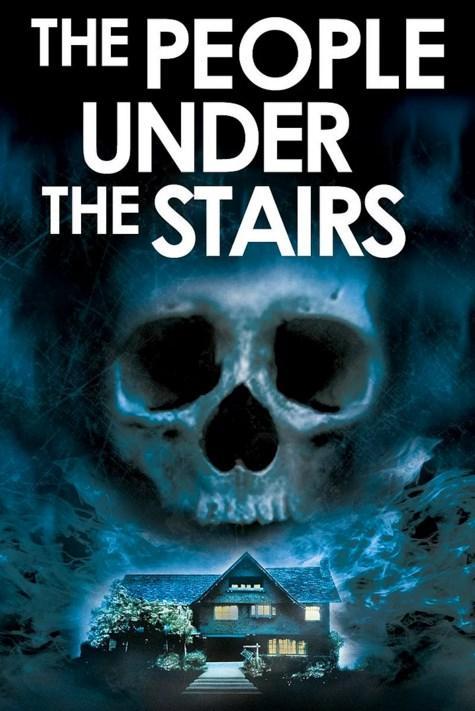 The People Under the Stairs / Merdiven Altındakiler (1991)  Çocuklarını yıllarca evlerinin bodrumunda kapalı tutan bir ailenin gerçek öyküsünden hareketle çekilen ?Merdiven Altındakiler? korku filmlerinin usta yönetmeni Wes Craven imzası taşıyor.   Kendilerini evden attıran zengin ev sahibinin malikanesine izinsiz giren Fool burada korkunç olaylar yaşandığını keşfeder. Evde oturan tuhaf çift çocukları kaçırmakta; her birinin dilini ve kulaklarını kesip, gözlerini oyduktan sonra bodruma kapatmaktadır.