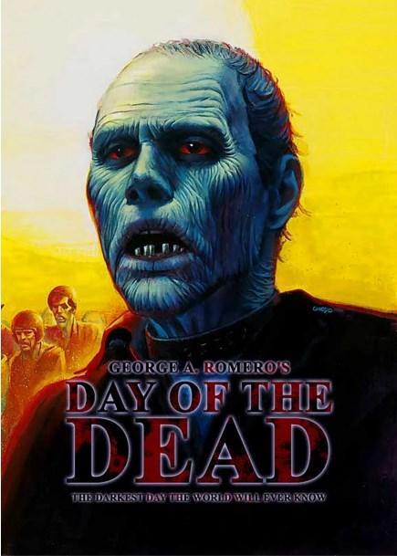 Day of the Dead / Ölülerin Günü (1985)  Zombilerin hakimiyet kurduğu bir dünyada yaşamaya devam etmeye çalışan bilimadamları ve askerlerden kurulu bir topluluk, bu saldırılardan korunabilmek için gizli bir füze silosuna saklanırlar. Burada sıkı bir çalışmaya başlamış, dünyayı kurtarma mücadelesini sürdürmektedirler. Bu çalışmalar sırasında yakaladıkları zombileri deneylerinde kobay olarak kullanan bilimadamları öte yandan askerlerin gönüllerini hoş tutmak zorundadır. Ancak bir süre sonra ortaya çıkan tehlikeli durum herkesi korkunç bir sona sürüklemek üzeredir.  Ölülerin Şafağı'nın kaldığı yerden devam eden filmde, yeni bir grup insanın hayatta kalma mücadelesi, önceki iki filmden daha da kanlı bir şekilde anlatılıyor.