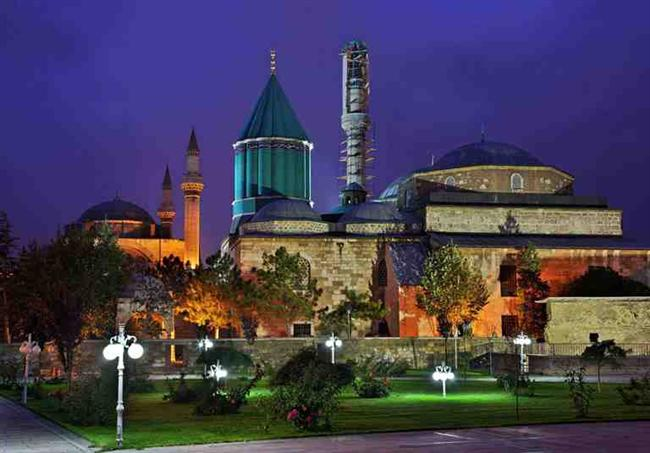 Konya'da Mevlana ziyareti.