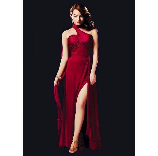 2003 yapımı Suç Çetesi(Gangster Squad) filminde Emma Stone'un alımına alım katan bu kusursuz elbise