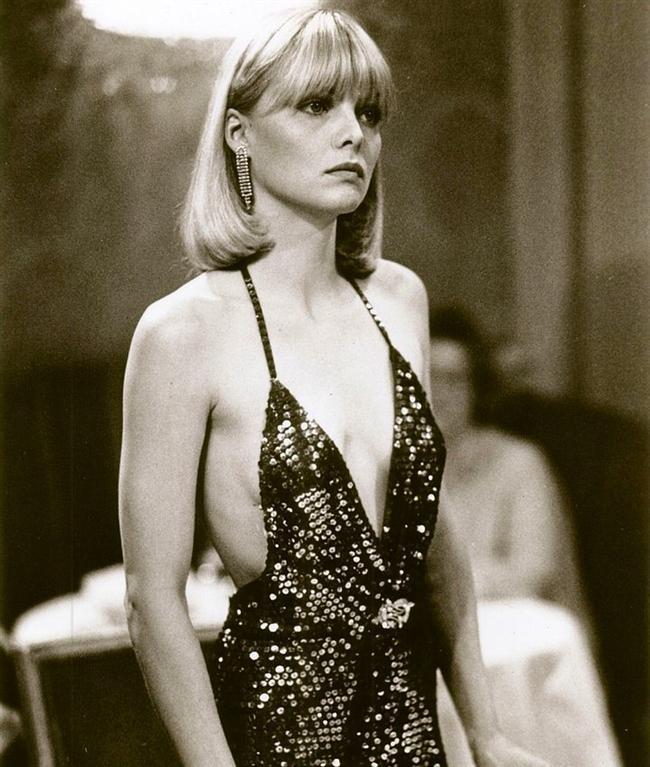 1983 yapımı Yaralı Yüz(Scarface) filminde Michelle Pfeiffer'in elbisesi