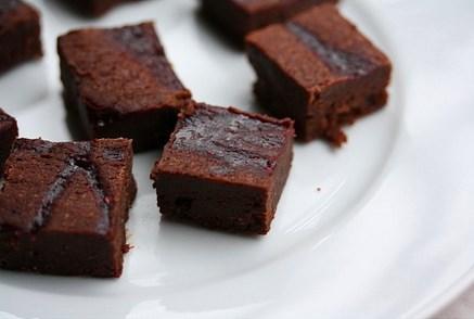 Brownie nedir?  Sözlük anlamı; küçük, yapışkan ve kekimsi kurabiye .