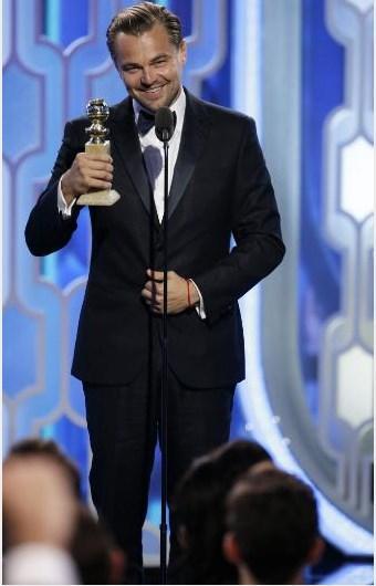 """Kategorilere göre ödül kazananlar şöyle sıralandı: En İyi Film (Drama): """"The Revenant"""" (Diriliş).  En İyi Film (Müzikal ve Komedi): """"The Martian"""" (Marslı).  En İyi Erkek Oyuncu (Drama): Leonardo DiCaprio, """"The Revenant"""" (Diriliş)."""