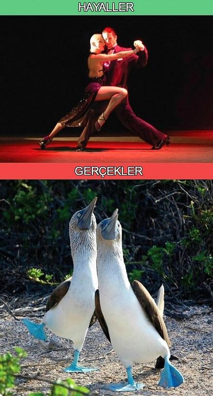 Nasıl dans ettiği...