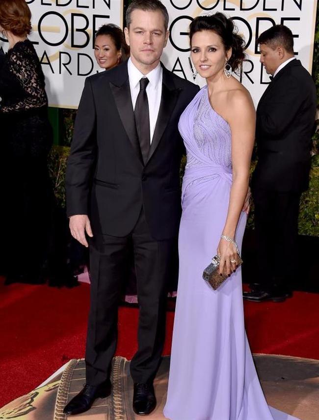 Matt Damon ve Luciana Barroso