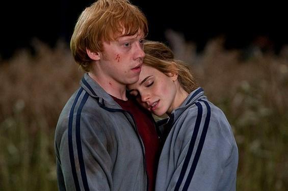 Hermione ve Ron çiftinin yanlış bir tercih olduğunu J. K. Rowling bile söyledi.