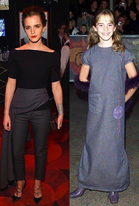 Emma Watson  2001 yılında Watson'ı bu kıyafetle gören hiçkimse, Watson'ın bir It Girl'e dönüşeceğini tahmin etmiyordu.