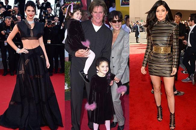 Kendall ve Kylie Jenner  Jenner Kardeşler ilk kırmızı halı törenlerine, daha çocukken katıldılar.