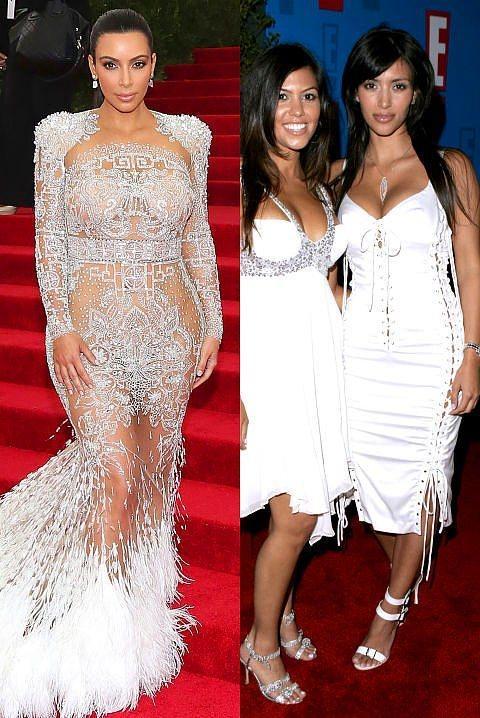 Kim Kardashian  Kardashian'ın 2005'ten beri tarzındaki dönüşüm, tabiri caiz ise resmen 360(!) derece...