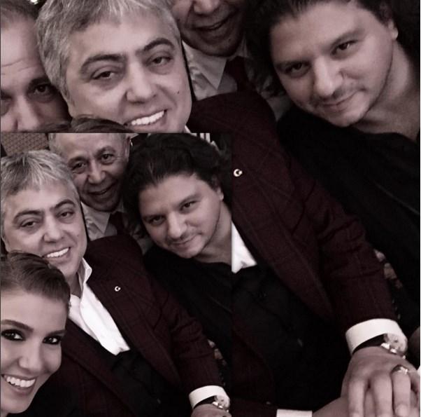 Gülben Ergen  Hepimizin kıymetli ağabeyi #CengizKurtoğlu ile ödül törenimiz başladı @kubatkubat @salihkececi