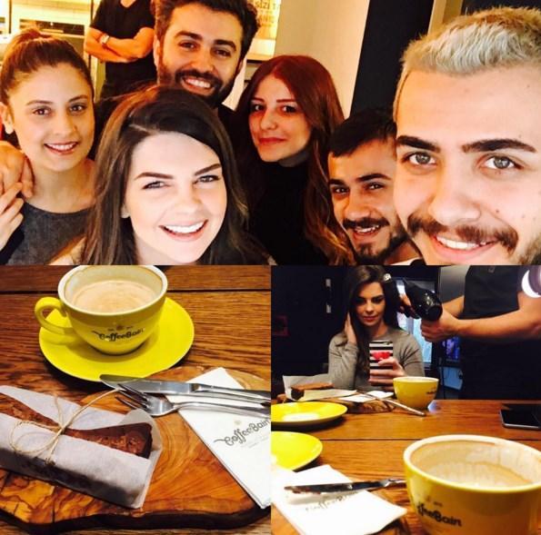 Pelin Karahan  Şahane bir ekiple tanıştım🙏🏻güleryüzlü enerjik ve misafirperverler☺️ kahve ve brownie nin tadı ise efsane... Saçlar bahane kahve şahane✂️☕️