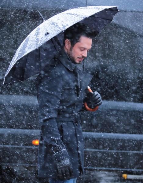 Murat Boz  Singing in the Snow ❄️❄️❄️