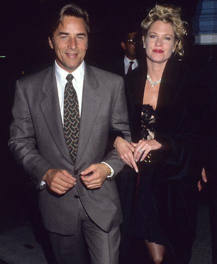 Melanie Griffith henüz 18 yaşındayken Don Johnson ile evlendi. Ancak altı ay sonra boşandılar.