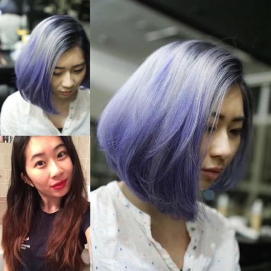 Görüntünüzü değiştirmek için ilk olarak saç renginizden başlayın. Sıradan renkler yerine yeni trend olan gri, mor ve pembe tonlardaki saç renklerini deneyebilirsiniz.