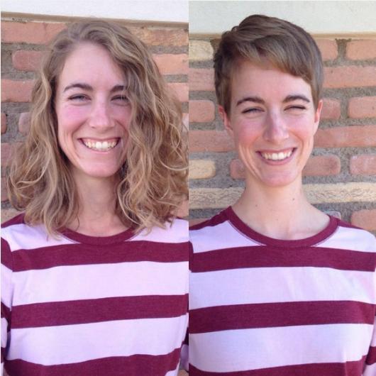 Kısa saçlar her zaman taze ve modern bir görünüm sağlar