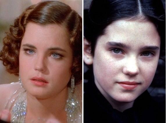 Yine aynı filmde Elizabeth McGovern'ın küçüklüğünü oynayan oyuncu Jennifer Connelly.