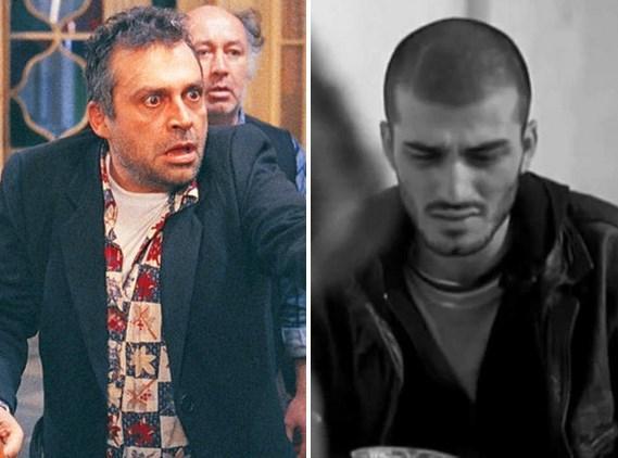 Masumiyet filmindeki muazzam performansıyla Haluk Bilginer ve Kader filminde Bilginer'in gençlik yıllarını aynı kalitede oynayan Ufuk Bayraktar.
