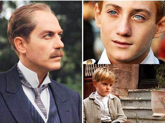 Atatürk'ün hayatının anlatıldığı Veda filminde Mustafa Kemal'in belirli dönemlerini oynayan üç isim.