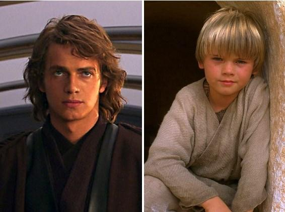Star Wars'ta küçük Anakin Skywalker'ımız.