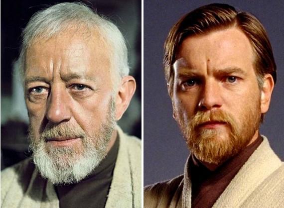 Obi-Wan Kenobi'nin gençliği için de gayet uyumlu bir aktörle anlaşılmıştı.