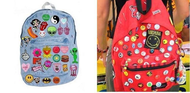 Çantaları, kıyafetleri hatta her yeri oldukça ''kişiselleştiren'' rozetler